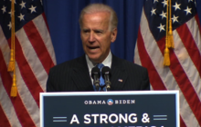 "Biden assures voters Obama ""has a big stick"""