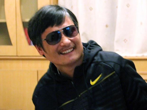 Chinese Dissident Chen Guangcheng