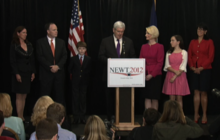 """Gingrich officially ends campaign, """"a truly wild ride"""""""