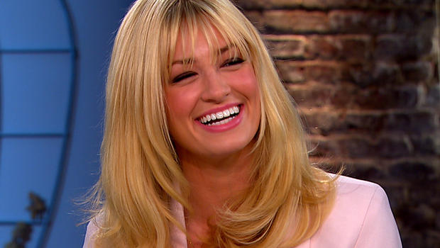 """Beth Behrs on """"CBS This Morning."""""""