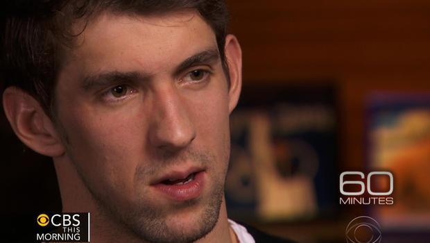"Michael Phelps speaks to ""60 Minutes."""