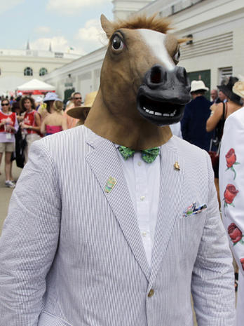 Bonnets bloom at Kentucky Derby