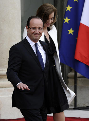 Francois Hollande's inauguration