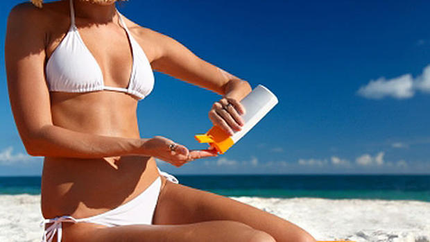 Environmental Working Group's top sunscreens for 2013
