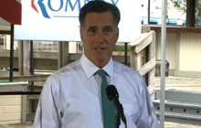 """Romney: """"I stand by what I said, whatever it was"""""""