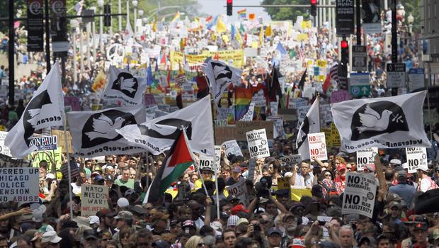 Chicago, NATO, protests