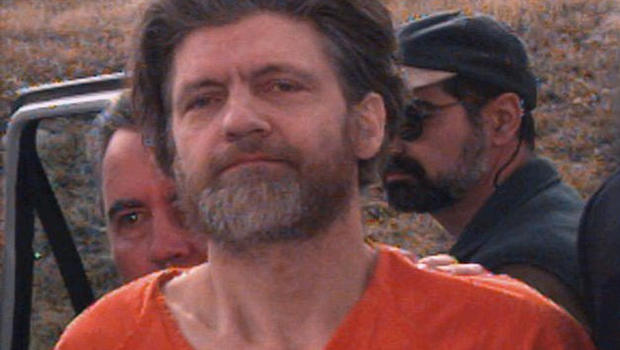 Ted Kaczynski, as seen in 1996.