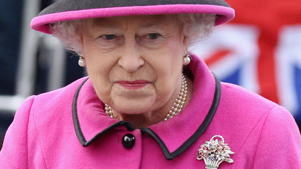 Queen Elizabeth II in March