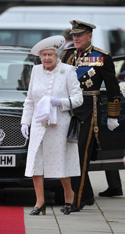 Royals celebrate Queen's Diamond Jubilee