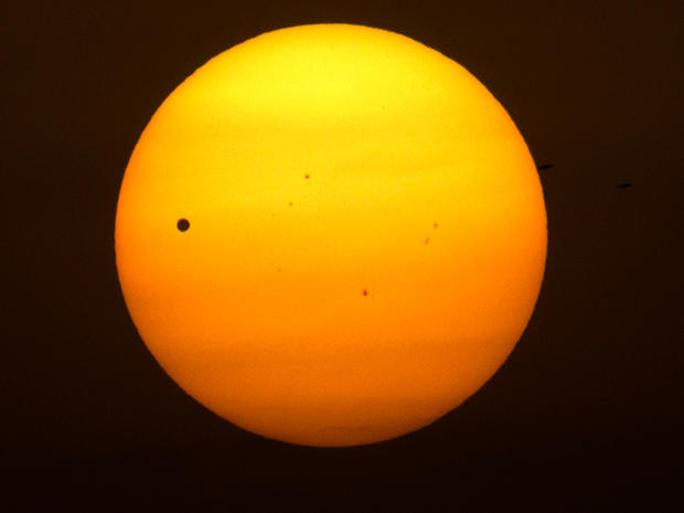 Transit of Venus from around the world
