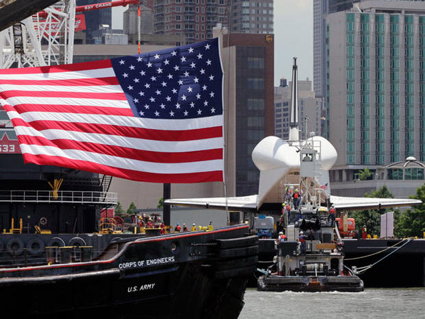 Space shuttle Enterprise heads to new home