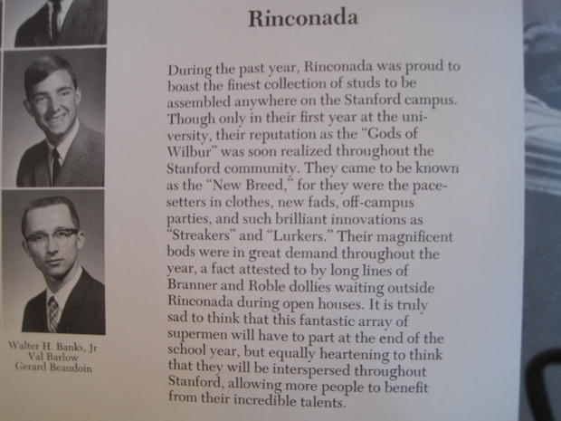 Mitt Romney's formative year at Stanford
