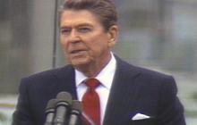 """Reagan's """"Tear down this wall"""" speech, 1987"""