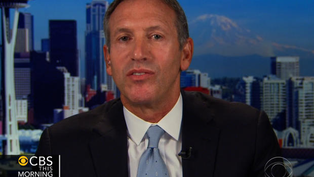 "Howard Schultz on ""CBS This Morning."""