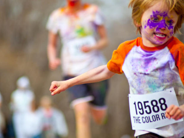 """The Color Run"": World's most colorful 5K"