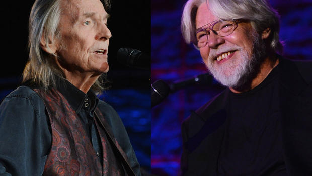 Gordon Lightfoot, left, and Bob Seger at 43rd annual Songwriters Hall of Fame inductions Monday night in New York