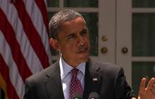 Obama immigration statement interrupted