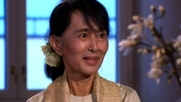 Suu Kyi receives Nobel Peace Prize in person