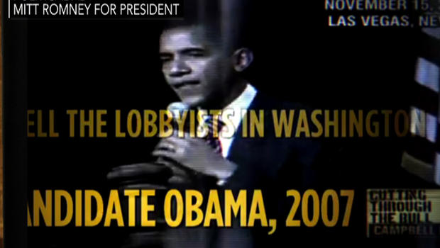 Image from ad attacking President Obama