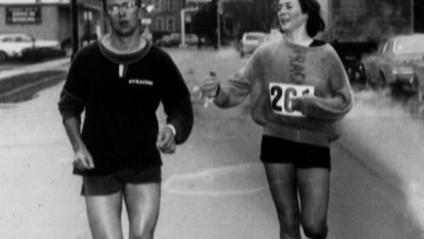 Kathrine Switzer looks back on a career of five decades and how one brave run at the 1967 Boston marathon helped paved the way for equality in sports
