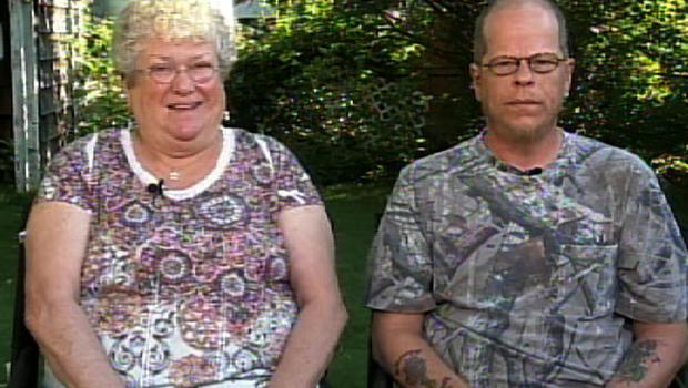 "Karen Klein and son Brian on ""CBS This Morning: Saturday:"