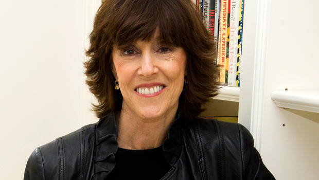 FILE - This Nov. 3, 2010 file photo shows author, screenwriter and director Nora Ephron at her home in New York. Oscar-nominated filmmaker and author Nora Ephron is very ill, according to a representative for her publisher. Nicholas Latimer of Alfred A. K