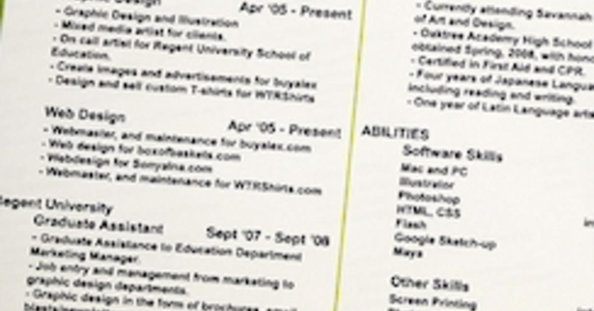 make your resume stand out with better job titles