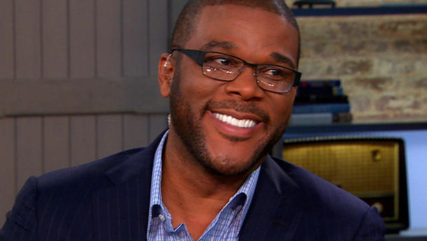 "Tyler Perry on ""CBS This Morning."""