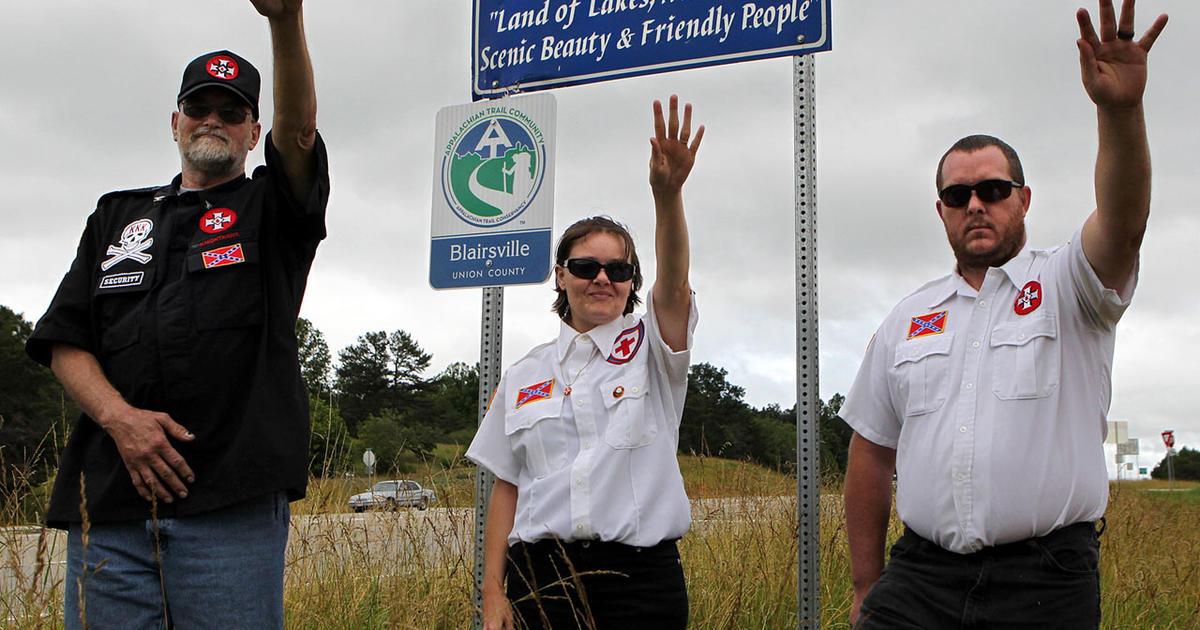 KKK Can Still Try To Adopt A Georgia Highway Court Rules CBS News - Kkk us map howell