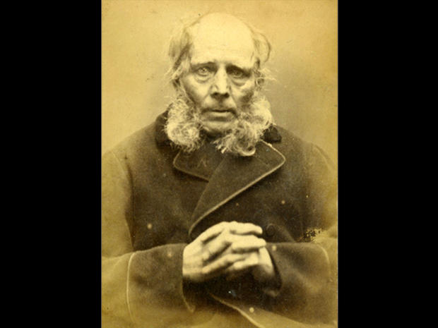 Vintage mugshots from 1870s England