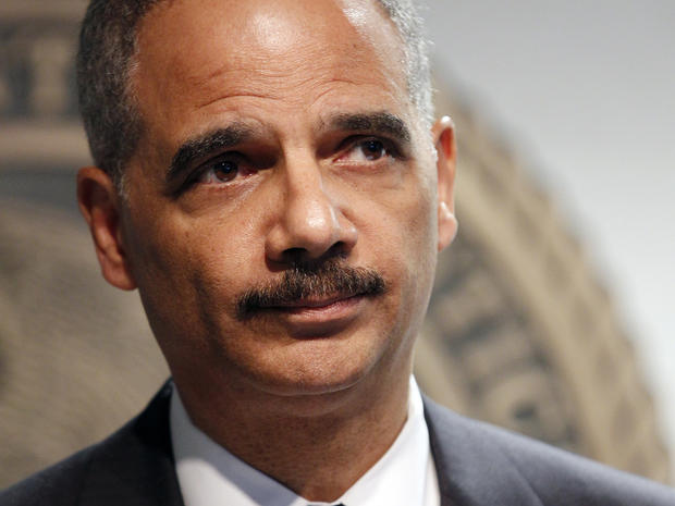 Eric Holder held in contempt