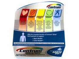 centrum silver vitamins, pfizer, cspi, health claims