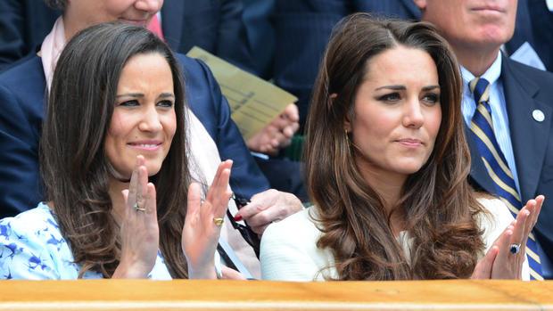Kate and Pippa at Wimbledon