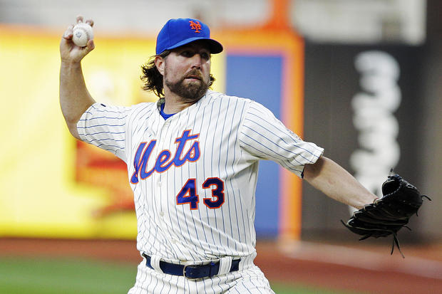 d487c41a7 R.A. Dickey - Photo 1 - Pictures - CBS News