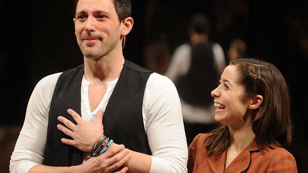 """""""Once"""" stars: Steve Kazee and Cristin Milioti"""