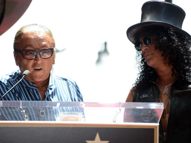 Slash honored with star on Hollywood Walk of Fame