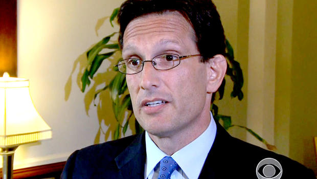 """House Majority Leader Eric Cantor said he and other Republicans keep attempting to repeal Obama's health care law because they """"want to try and get it right."""""""