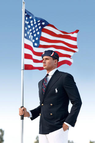 Ralph Lauren's U.S. Olympic opening ceremony uniforms