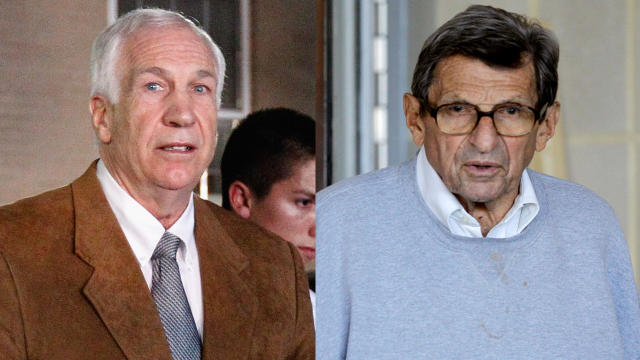 Jerry Sandusky and Joe Paterno
