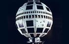 Image of the Telstar 1 satellite. Telstar was launched by NASA on July 10, 1962, from Cape Canaveral, Fla., and was the first privately sponsored space-faring mission. Two days later, it relayed the world's first transatlantic television signal