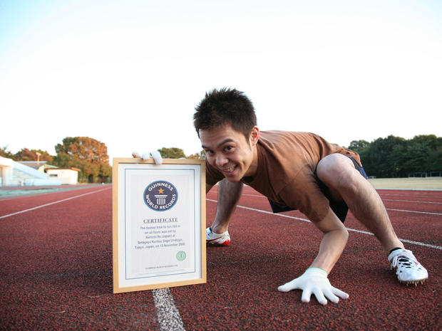 Guinness World Records' wackiest sports record holders
