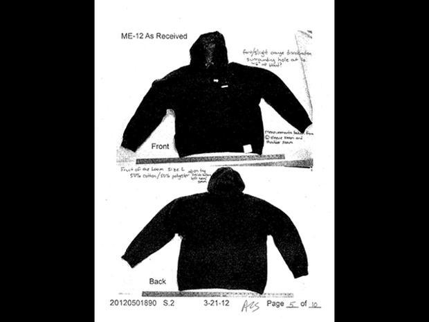 George Zimmerman crime scene photos