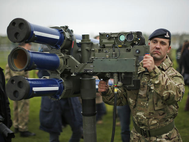 U.K. military to boost security for London Olympics