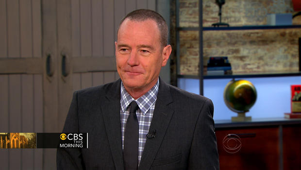 """""""Breaking Bad"""" actor Bryan Cranston appears on """"CBS This Morning."""""""