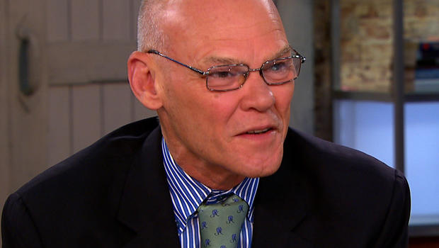 """James Carville on """"CBS This Morning,"""" July 16, 2012."""