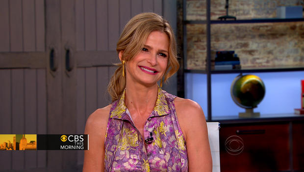"Kyra Sedgwick appears on ""CBS This Morning,"" July 16, 2012."
