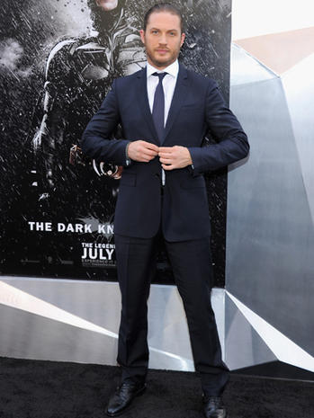 """The Dark Knight Rises"" premieres in New York"