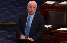 "McCain defends Clinton aide from ""sinister"" Bachmann attacks"