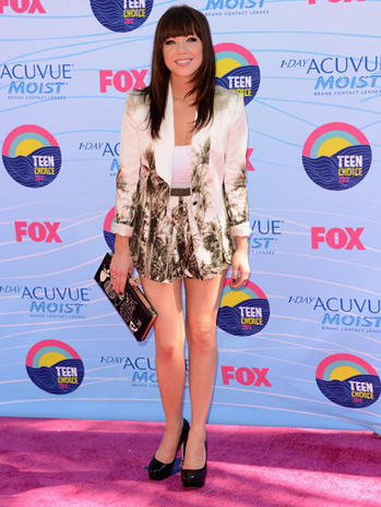Teen Choice Awards 2012 fashion