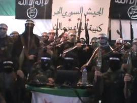 Islamist militants claim allegiance to the Free Syrian Army